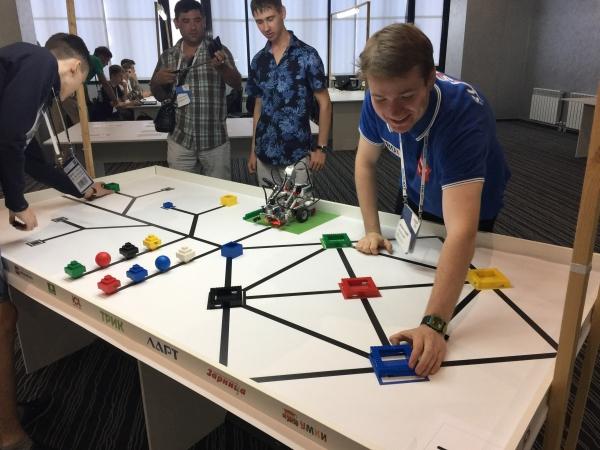 Лига Роботов набирает сборную по спортивной робототехнике