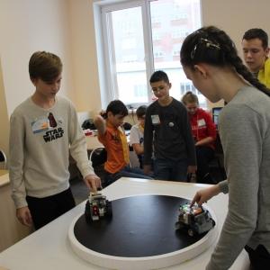 """Спортсмены """"Лиги Роботов"""" взяли 3 приза на Городских соревнованиях по робототехнике"""