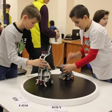 Спортсмены «Лиги Роботов» взяли 3 приза на Городских соревнованиях по робототехнике