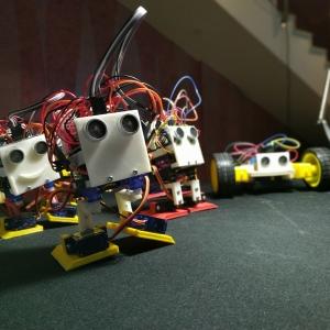 Лига Роботов на Губернаторской Ёлке