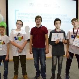 Ученики Лиги Роботов привезли 9 наград с Городских соревнований по робототехнике!